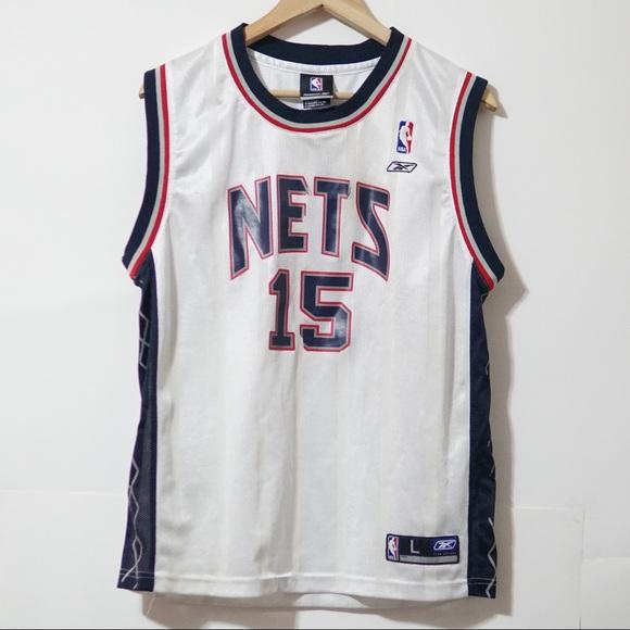 6aaf2fa28e9 Reebok Shirts | Reebox Nets Vince Carter Nba Basketball Jersey ...